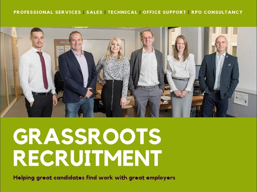 Grassroots Recruitment Agency in Stockport