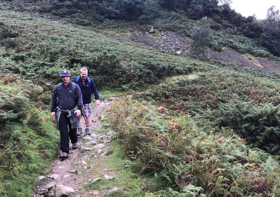 The Ullswater charity walk for The Wellspring