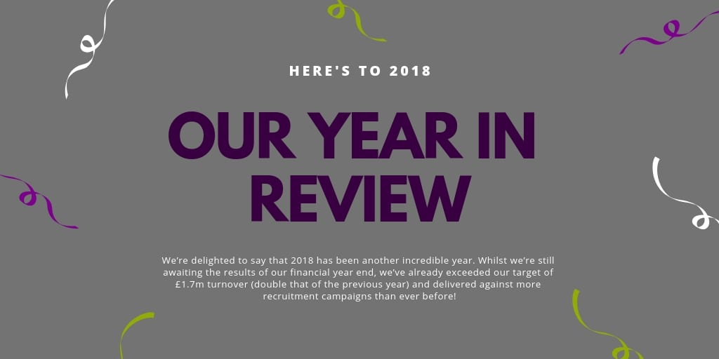 Here's to 2018 | Our Year in Review
